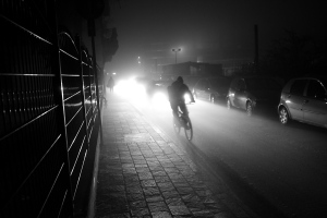 bicycle in the night - bicicletta di notte