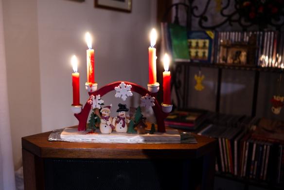 candles, Christmas 2011