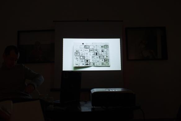 workshop eskildsen, planning a book layout - 2011