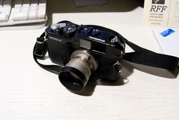My Voitglander Bessa R, Rangefinder camera, jan 2012