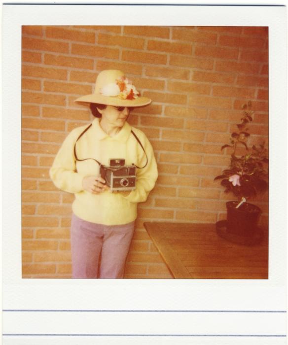 simo with Polaroid 340