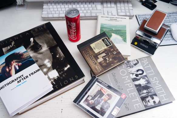 from Diane Arbus to Patti Smith, with coke and a polaroid sx 70