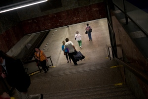 Prague, the subway