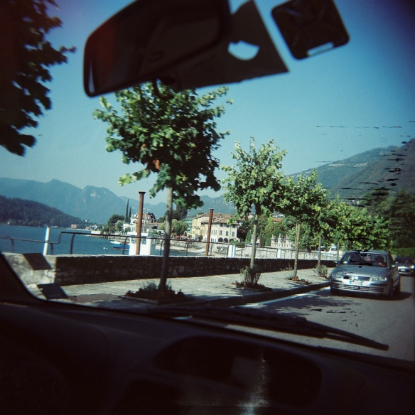 holga on the road