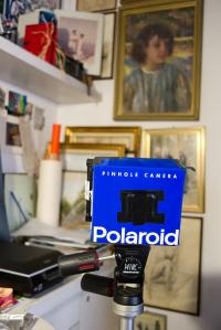 polaroid cardboard camera