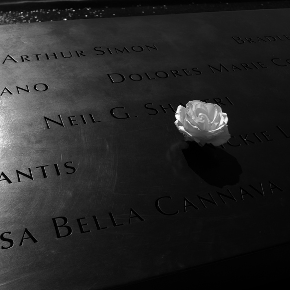 NYC 9-11 memorial                   photo rkr©2014