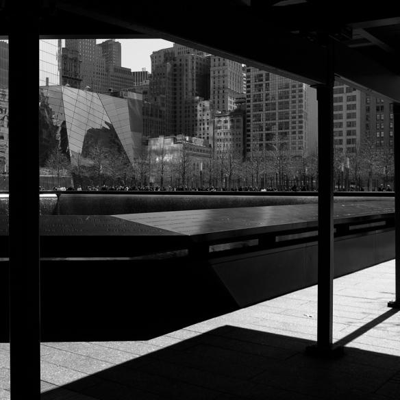 NYC 9-11 memorial .                    photo rkr©2014
