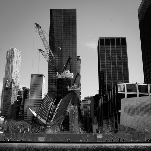 NYC 9-11 memorial                     photo rkr©2014