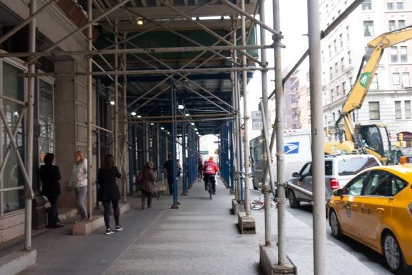 work in progress in NYC