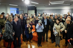 The vernissage