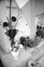 The simple grave of Sandro Pertini, Italian President 1978/85