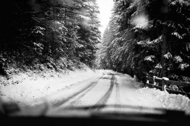 winter road in the Alps (1 di 1)
